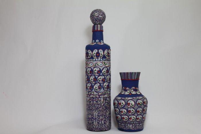 בקבוק ואגרטל - תמר רוזן