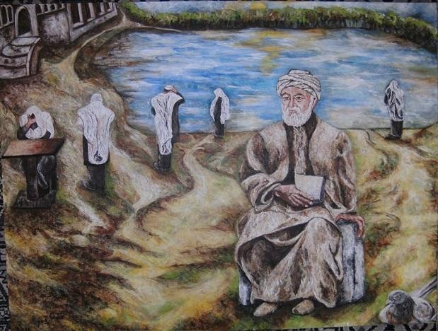"""אורית מיכאלי יצחק, אקריליק על בד,  60 על 80 ס""""מ"""