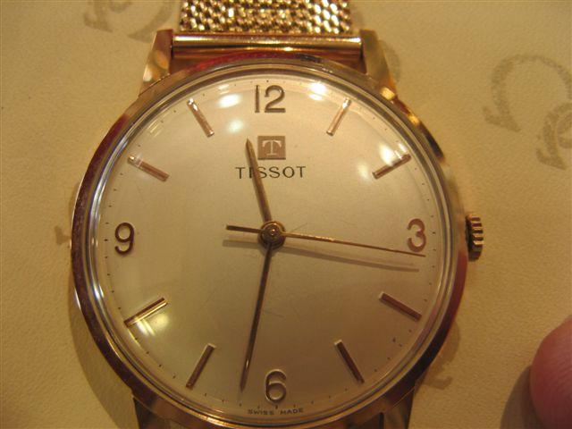 שעון TISSOT זהב 14K