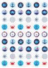 דף טרנספר - ים כחול TR546