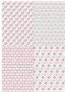 דף טרנספר - אהבה 4 רקעים TR583