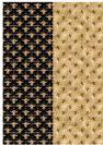 דף טרנספר - דבורים 4 רקעים TR641