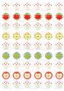דף טרנספר - תפוחים שנה טובה TR639