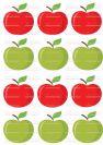 דף טרנספר - תפוחים לסוכריות TR637