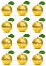 דף טרנספר - תפוחים זהב ברכה TR635