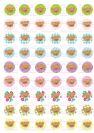 דפי טרנספר - דובונים צבעוני TR682