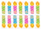 נרות חנוכה TR113