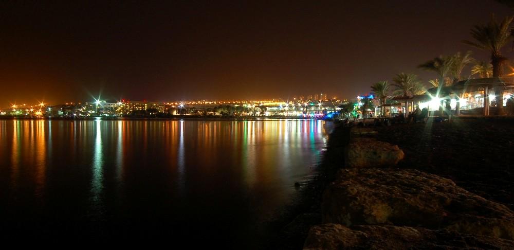 חוף אילת צילום לילה - תמונות בחינם ללקוחות Webfocus