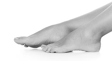 טיפול ניקוז אנדרמו באיזור הרגליים