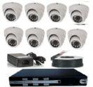 מבצע לחודש בלבד !!! מערכת מעגל סגור DVR מושלמת ל8 מצלמות להרכבה עצמית