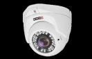 מצלמת כיפה עם עדשה משתנה 2.8-12 ברזולציה AHD 1080 2MP PROVISION דגם DI-390AHDEVF