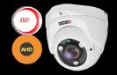 מצלמת כיפה 4 מגה פיקסל עם עדשה משתנה 2.8-12 PROVISION דגם DI-340AHDVF