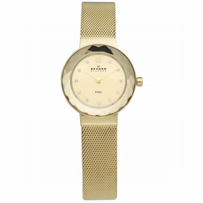 Skagen 456SGSG שעון סקאגן מוזהב לנשים מדהים ! במבצע