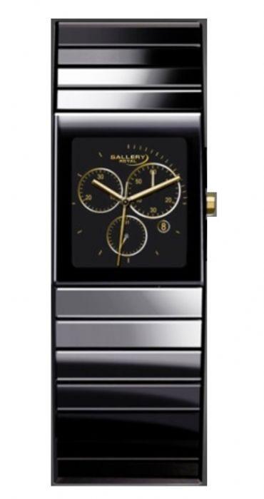 שעון יד GALLARY דגם 16765-2 קרמיקה זכוכית ספיר
