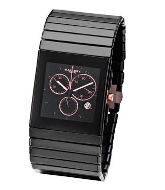 שעון יד GALLARY דגם 16765 קרמיקה זכוכית ספיר
