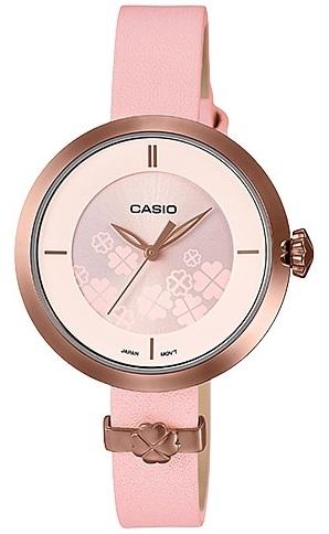 שעון יד Casio LTPE154RL-4A קסיו מהקולקציה החדשה