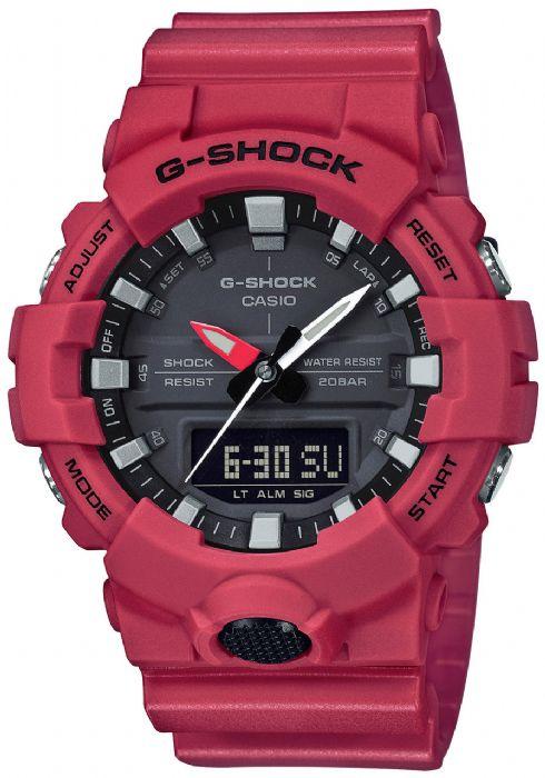שעון יד Casio G-Shock GA800-4A קסיו מהקולקציה החדשה