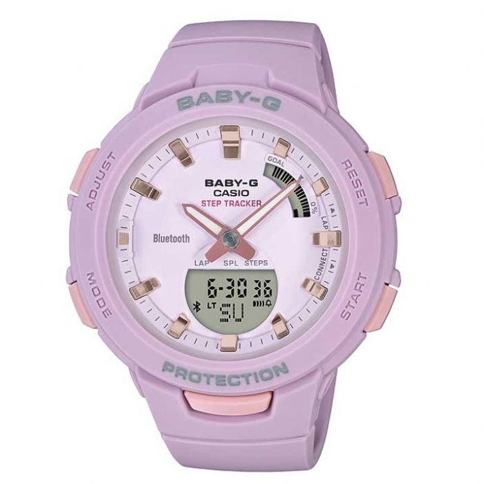 שעון יד Casio BABY-G BSAB100-4A2 קסיו מהקולקציה החדשה