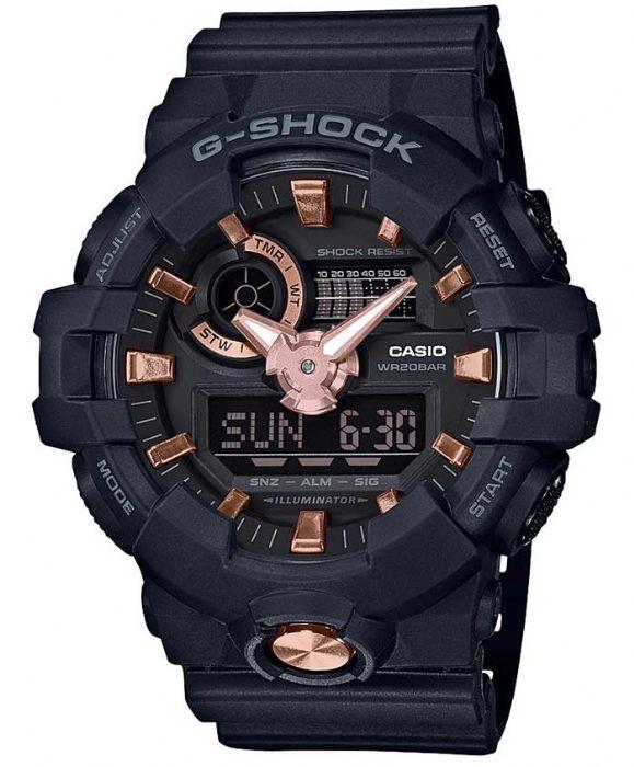 שעון יד Casio G-Shock GA-710B-1A4 קסיו מהקולקציה החדשה