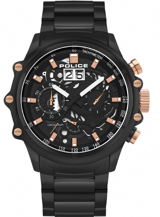 Police PL.16018JSB/02M שעון יד פוליס לגבר מהקולקציה החדשה