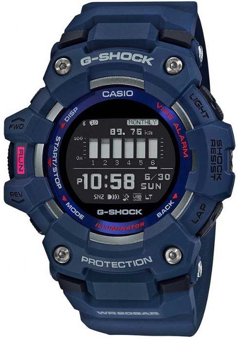 שעון יד Casio G-Shock GBD100-2D קסיו בלוטוס צעדים וקלוריות מהקולקציה החדשה