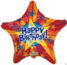 בלון כוכב יום הולדת שמח