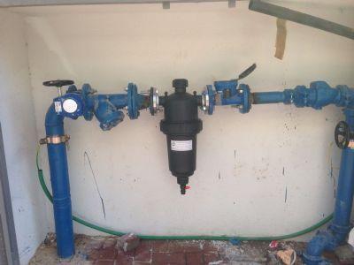 אקונו-מים מסנן מים לבניין