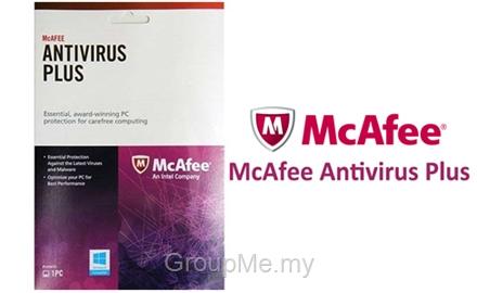 McAfee (intel) - Anti Virus Plus