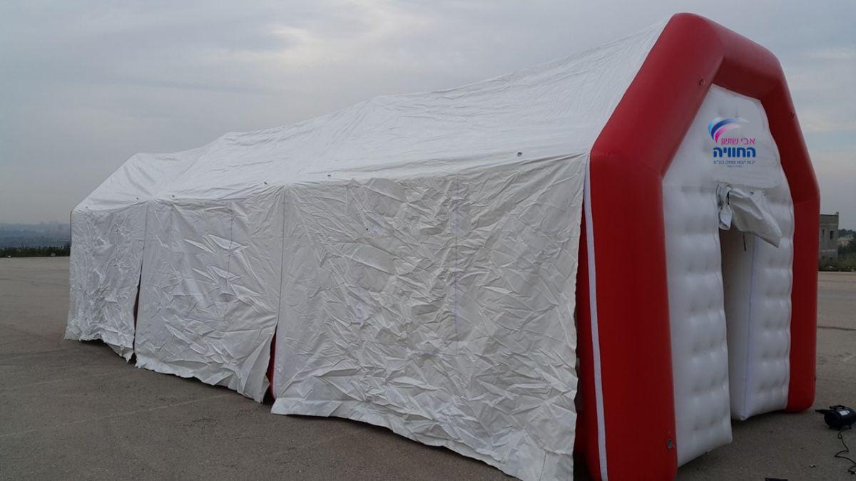 אוהל מתנפח לתעשייה