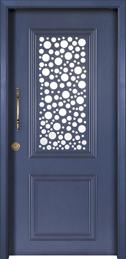 דלת כניסה דגם בועות