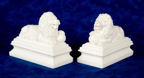 פסלון תומך ספרים אריה מיניאטורי