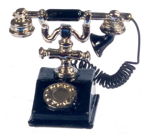 טלפון עתיק מיניאטורי