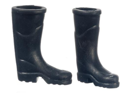 מגפיים שחורים מיניאטוריים