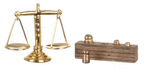 משקל מאזניים מיניאטורי