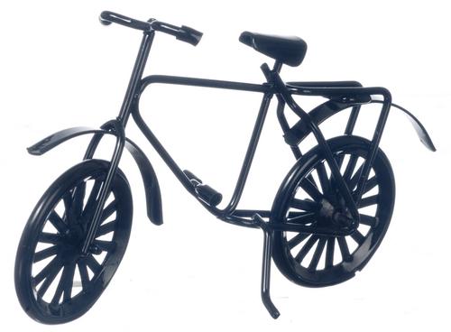 אופניים שחורות מיניאטוריות