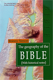 "A book - ""The geography of the BIBLE"""