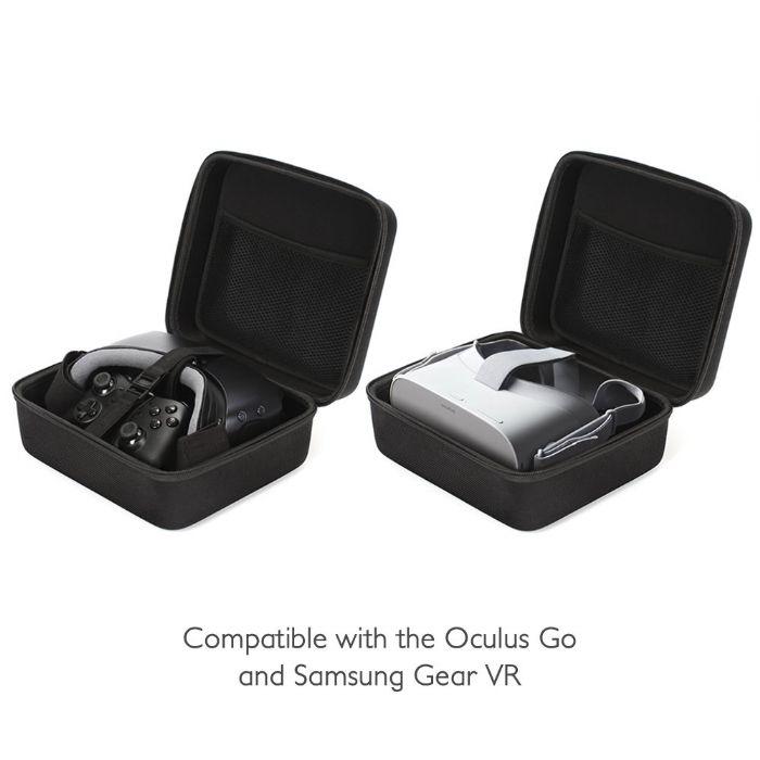 Gear VR Case Travel Storage Carrying Protective Bag for Samsung Gear VR/Oculus Go VR