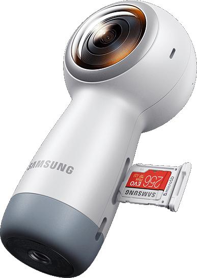 מודרניסטית מצלמה Gear 360 SM-R210 4K LA-79
