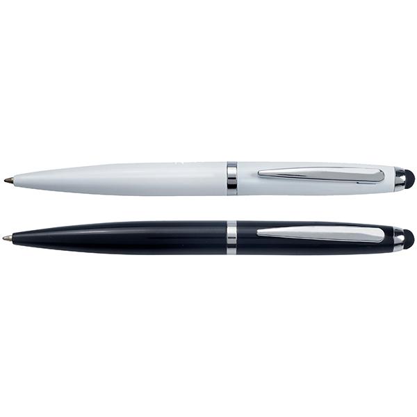 עט אורנוס מתכתי (עם כרית טאץ')