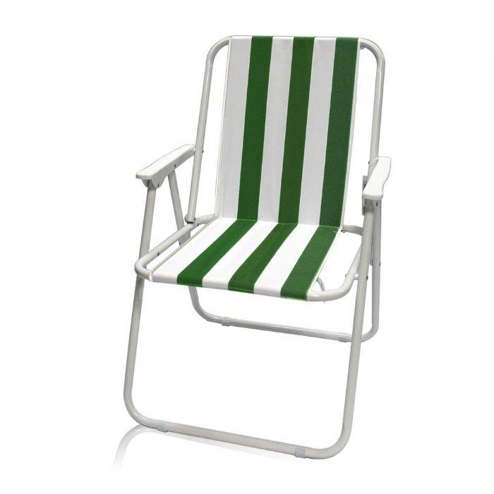 כיסא פסים מתקפל