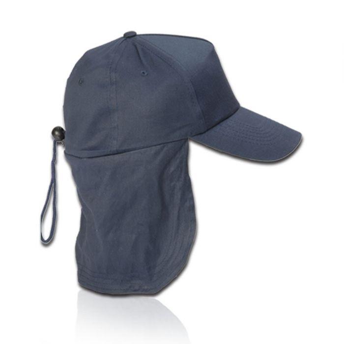 כובע עם הגנה לעורף