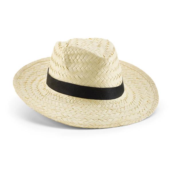 כובע קש בהיר