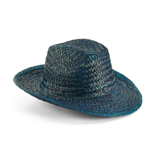 כובע קש צבעוני