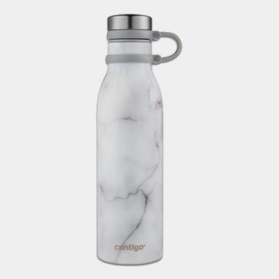 """בקבוק מתכת Matterhorn לבן שיש 591 מ""""ל"""