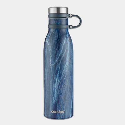 """בקבוק מתכת Matterhorn כחול שיש 591 מ""""ל"""