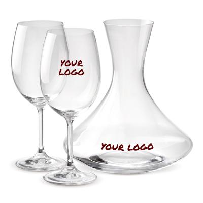 סט קראף וכוסות יין