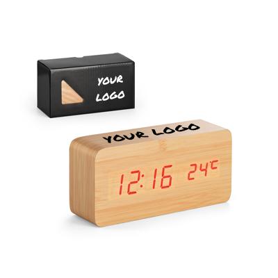 שעון דיגיטלי מבמבוק
