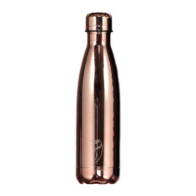 """בקבוק מים מתכת Chilly's צבעוני 500 מ""""ל"""
