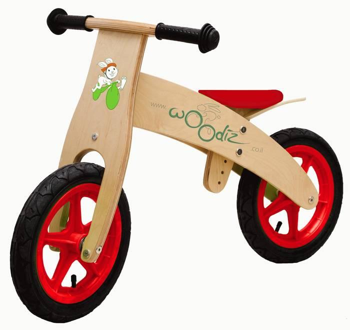 אופני עץ ללא פדלים אופניים מעץ BIKE דגם  09