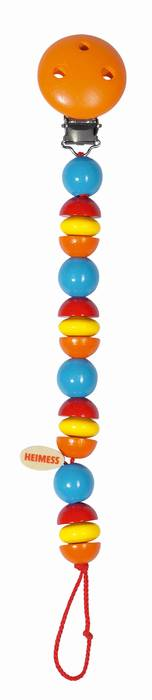 צעצועים לתינוקות-שרשרת למוצץ- פירות הדר 1021